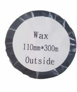 mực in mã vạch wax 110x300