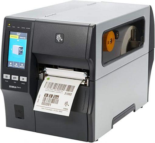 máy in mã vạch zebra zt411 600dpi