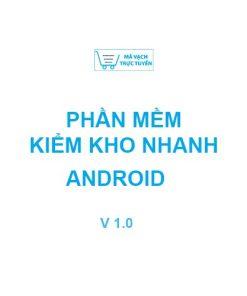 phần mềm kiểm kho cho thiết bị android